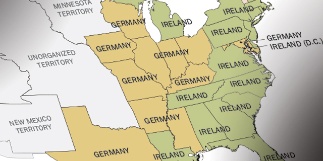 From Ireland to Germany to Italy to Mexico: How America\'s Source of ...